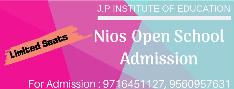 J.P INSTITUTE OF EDUCATION