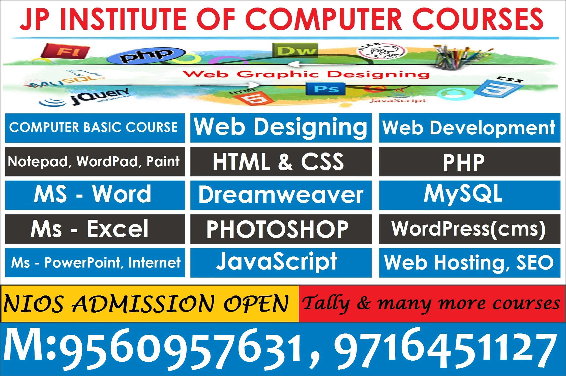 best institute for computer courses