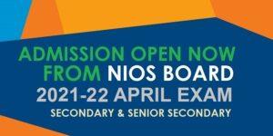 nios open shool 2022 april